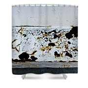 Metal Horizon Shower Curtain