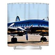 Metal Plane Shower Curtain
