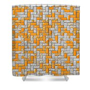 Metal Rusty Surface Shower Curtain