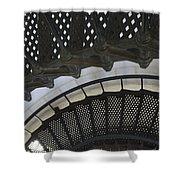 Metal Stair Case Shower Curtain