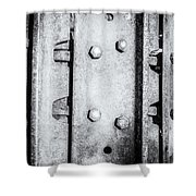 Metal Tank Scale Of Unity Shower Curtain