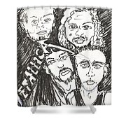 Metallica Shower Curtain