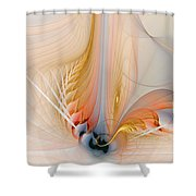 Metamorphosis Shower Curtain by Amanda Moore