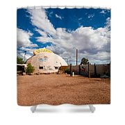 Meteor City Trading Post Shower Curtain