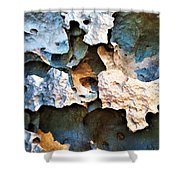 Meteor Rock Shower Curtain