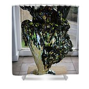 Methadone Explosion View Two Shower Curtain