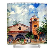 Methodist Church  Gilbert Az Shower Curtain