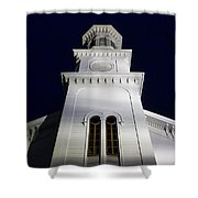 Methodist Steeple Shower Curtain