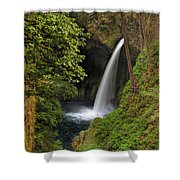 Metlako Falls In Spring Shower Curtain