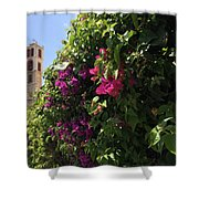 Metropolis Of Larnaca  Shower Curtain