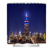 Mets Dominance Shower Curtain