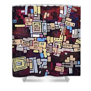 Mexica Shower Curtain