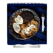Mexican Breakfast Shower Curtain