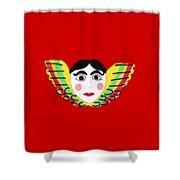 Mexican Cherub Shower Curtain
