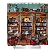 Mexican Restaurant Decor Shower Curtain