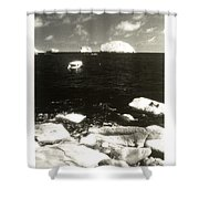 Mexican Seascape Shower Curtain
