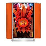 Mexican Sun Shower Curtain