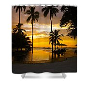 Mexican Sunset Shower Curtain
