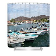 Mexican Transportation Shower Curtain