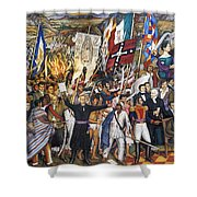 Mexico: 1810 Revolution Shower Curtain