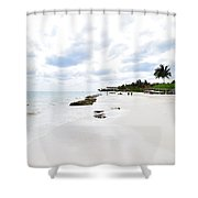 Mexico Beaches2 Shower Curtain