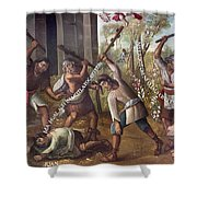 Mexico: Christian Martyrs Shower Curtain
