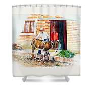Mexico-el Burrito Shower Curtain
