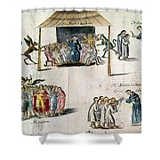 Mexico: Missionaries Shower Curtain