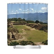 Mexico: Monte Alban Shower Curtain