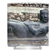 Mexico: Toltec Altar Shower Curtain