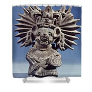 Mexico: Vampire Goddess Shower Curtain