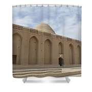 Meybod Ice House Yazd, Iran Shower Curtain