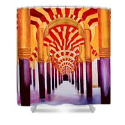 Mezquita De Cordoba Shower Curtain