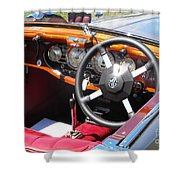 Mg Dashboard Shower Curtain