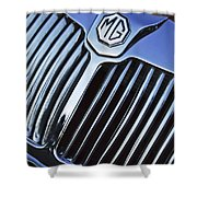 Mg Hood Ornament Shower Curtain