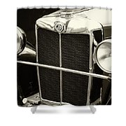 Mg Tc Sports Grill - Vintage Shower Curtain