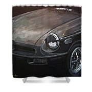 Mgb Rubber Bumper Front Shower Curtain