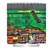 Mgm Grand Las Vegas Shower Curtain by Nicholas  Grunas