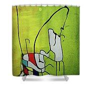 Mi Caballo Shower Curtain