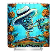Mi Cerveza II Shower Curtain