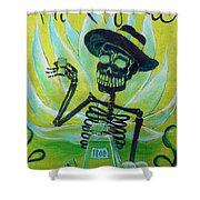 Mi Tequila Shower Curtain