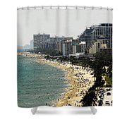 Miami Beach Fla Shower Curtain