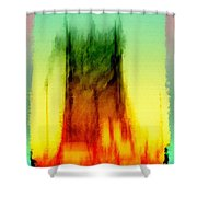 Miami Beat Shower Curtain