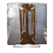 Miami Hard Rock Brass Rail Shower Curtain