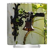 Miami Monastery Bell Shower Curtain