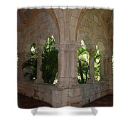 Miami Monastery Shower Curtain