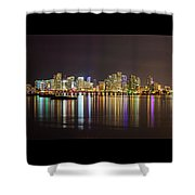 Miami Nights Shower Curtain