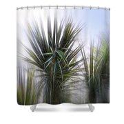 Miami Palms Shower Curtain