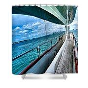 Miami Reflection Shower Curtain