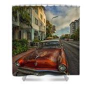 Miami Ride Shower Curtain